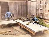 Japanese Craftsmen Making Tatami Floor Mats