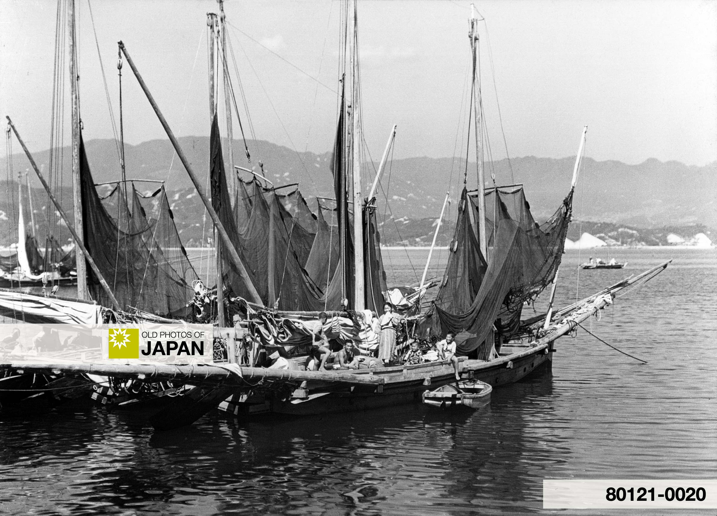Japan. Miyajima. Fishing Boats (1930).
