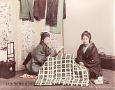 Two Women at a Kotatsu