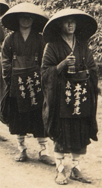 Buddhist monks of Tofukuji