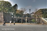 Nijubashi at the Imperial palace in Tokyo