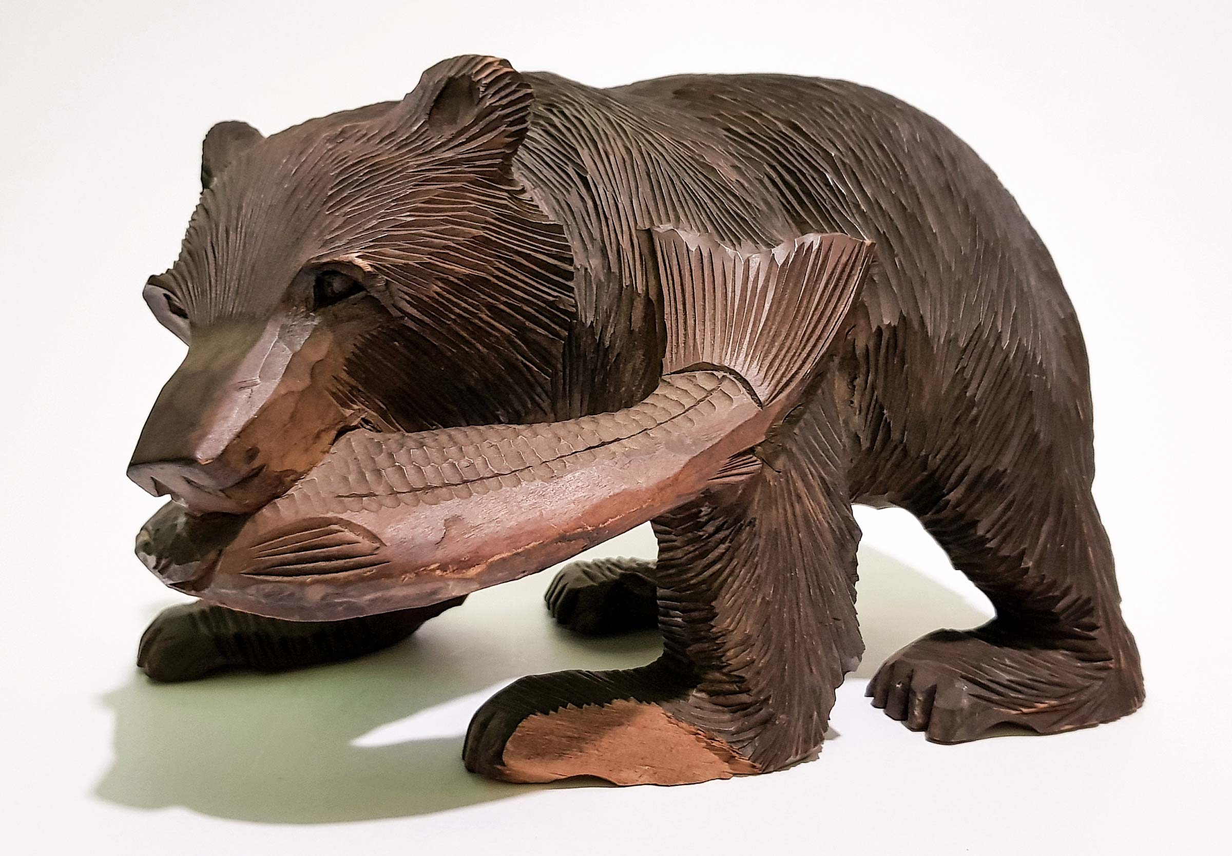 Ainu Bear Carving
