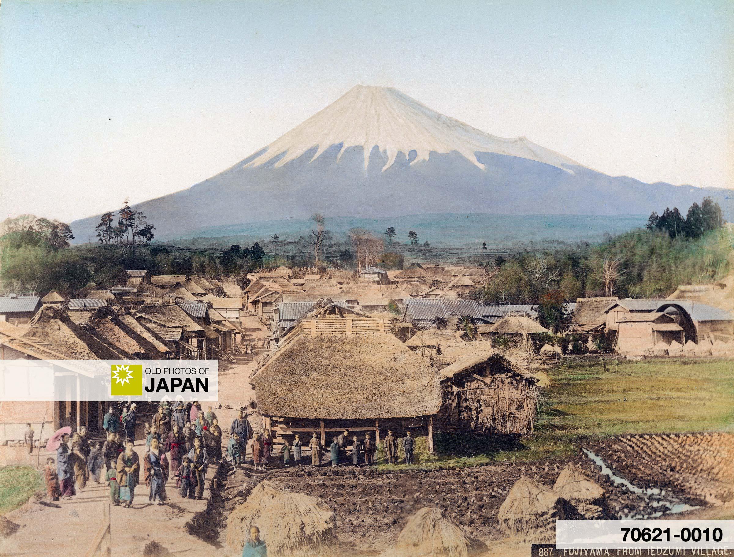 Mt. Fuji from Iedzumi Village