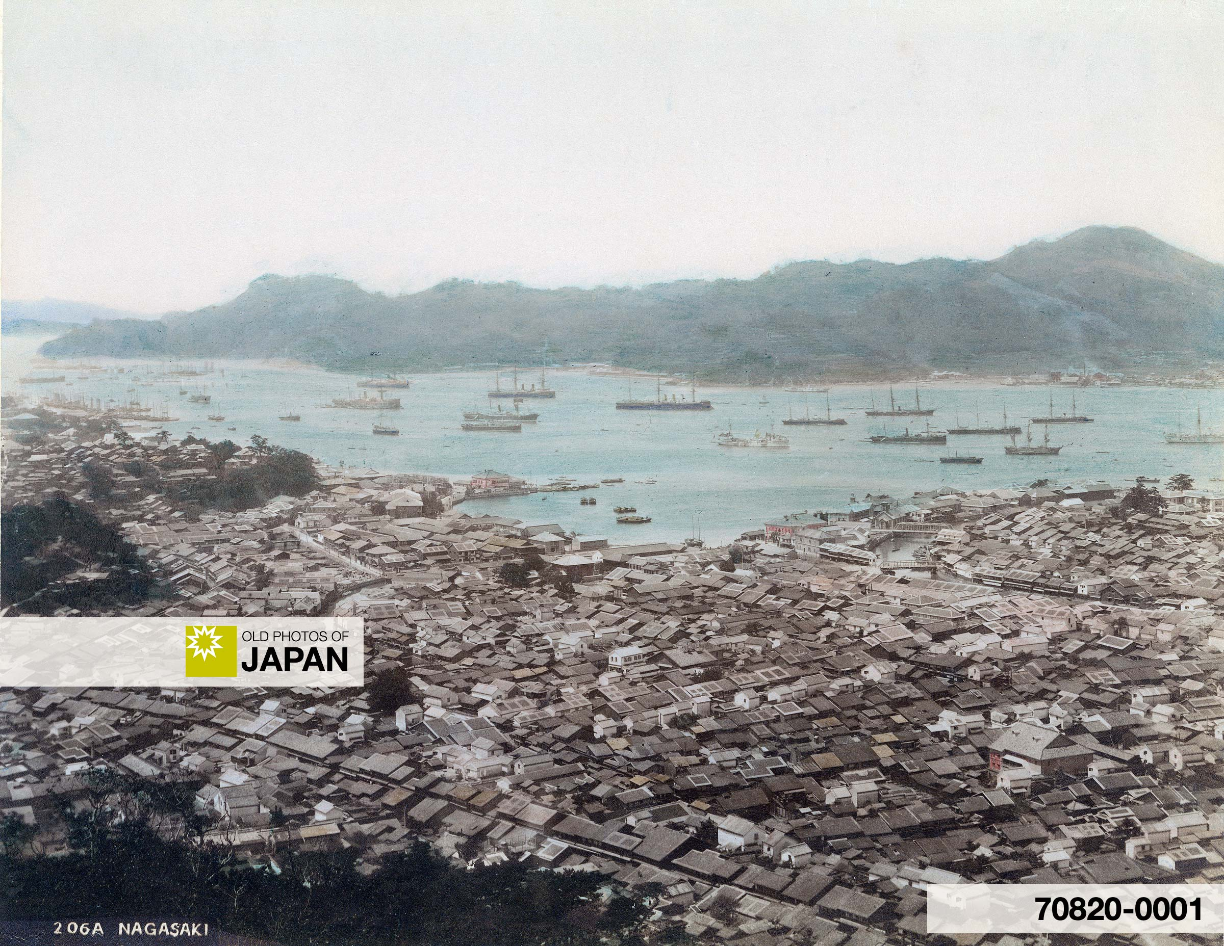 Panoramic View on Nagasaki