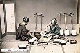 Shamisen maker