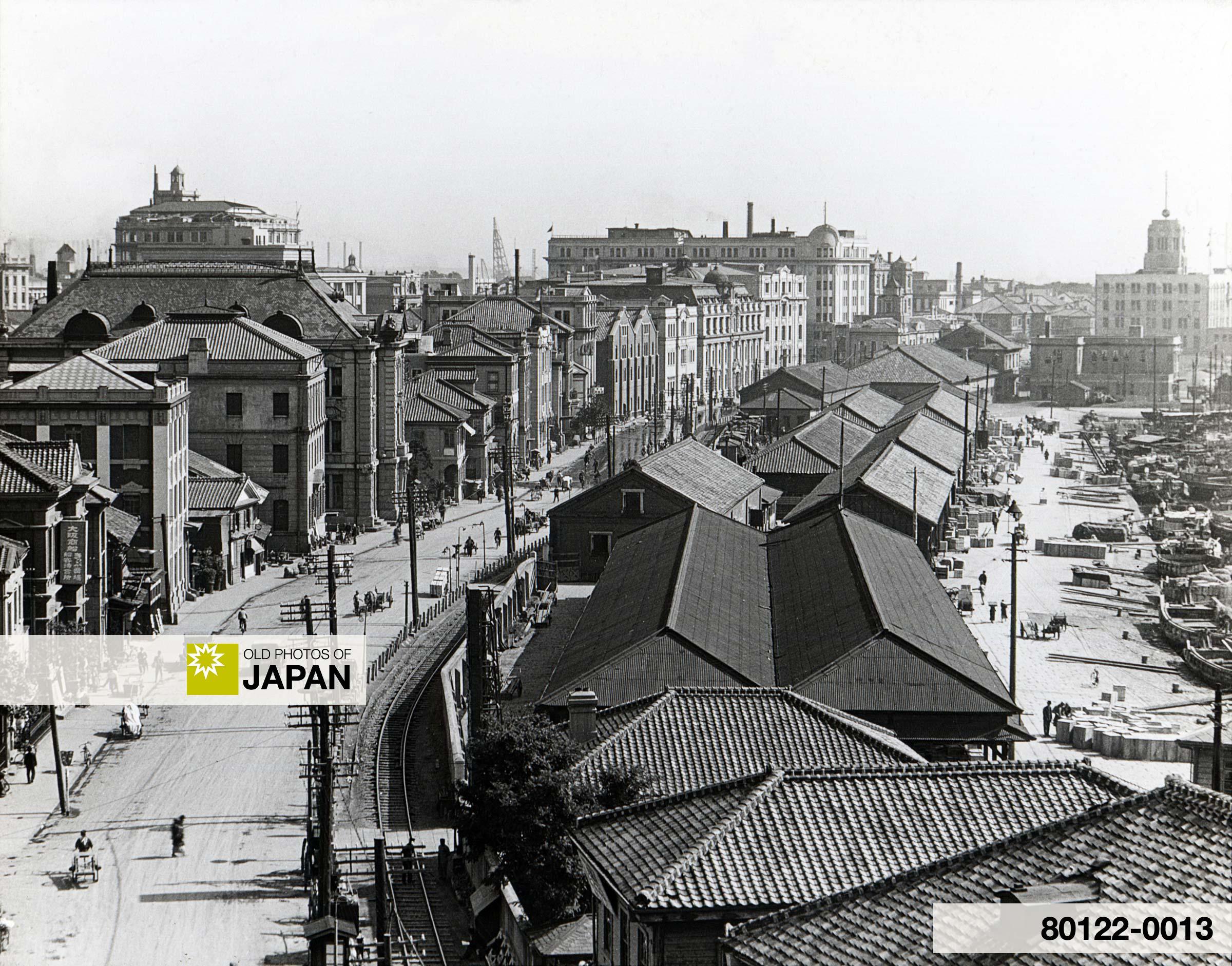 The Bund in Kobe, Japan (1930).