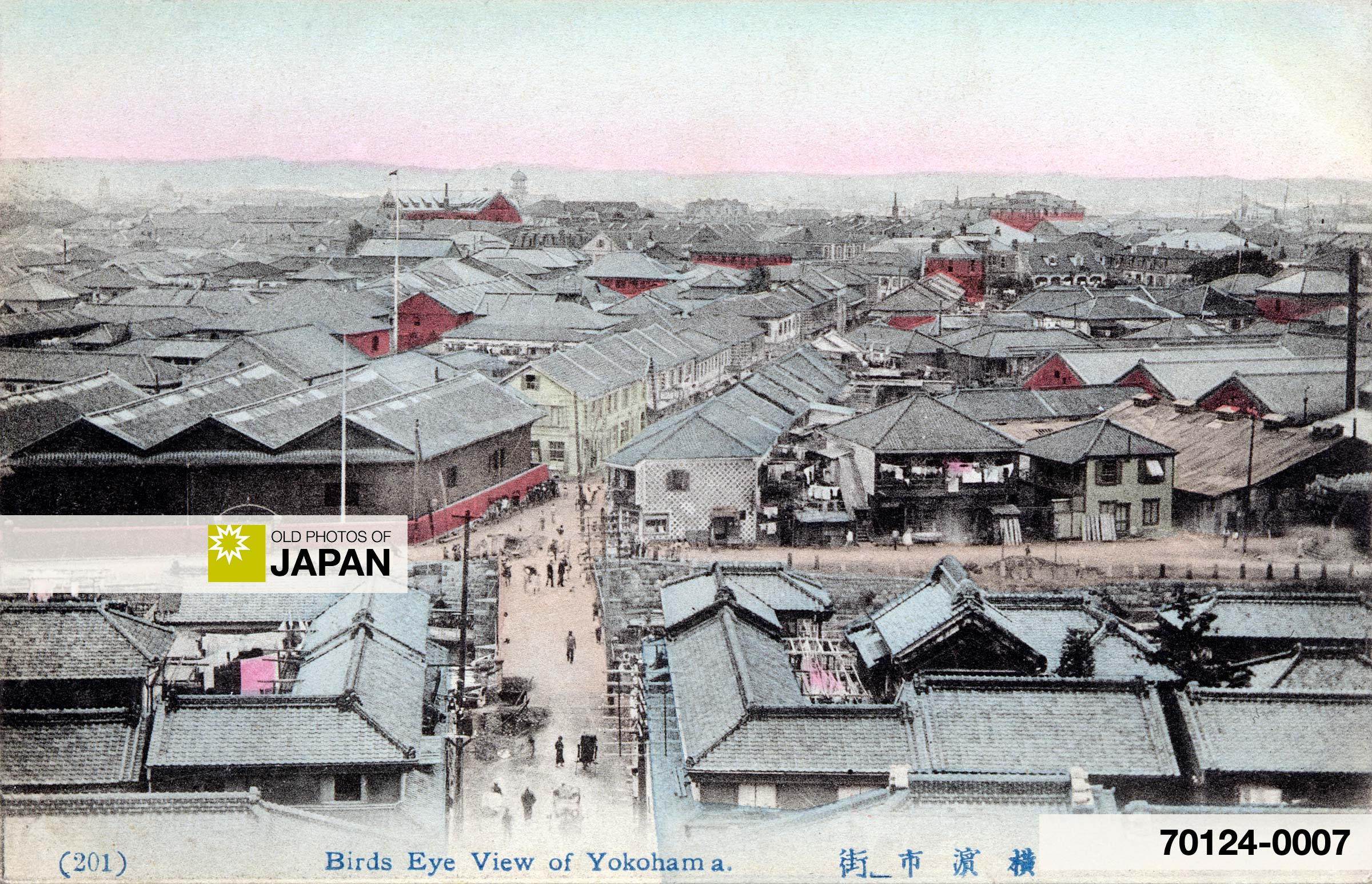 Bird's Eye View of Yokohama