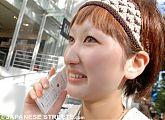 Young Japanese Woman in Harajuku, Tokyo