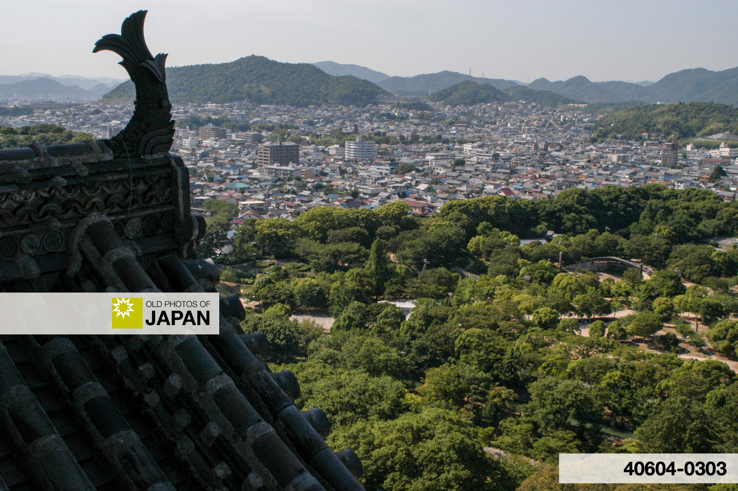 View from Himeji Castle