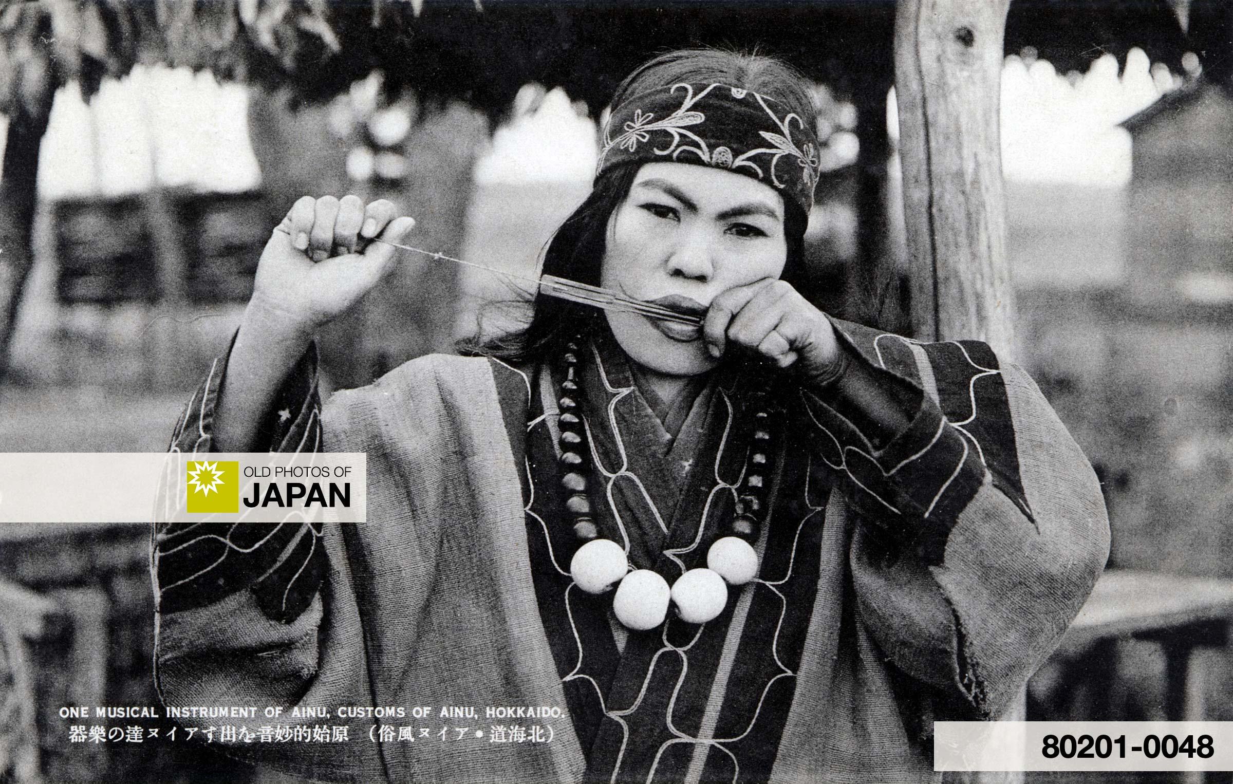 Ainu Woman