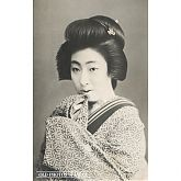 Portrait of Japanese Woman in Kimono