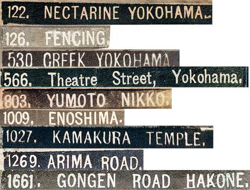 Kusakabe Kimbei Titles