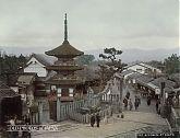 Pagoda at Kiyomizu, Kyoto