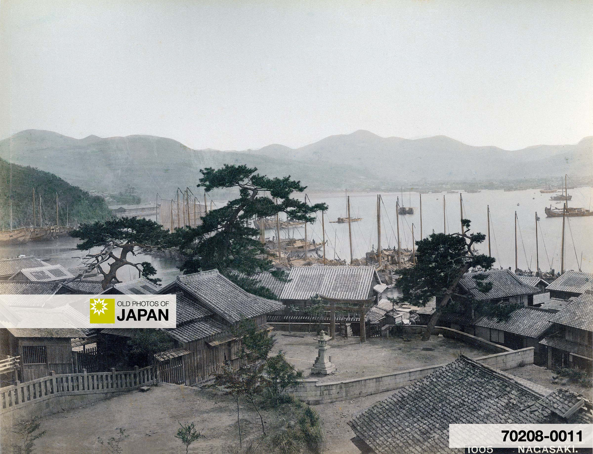 View on Harbor in Nagasaki