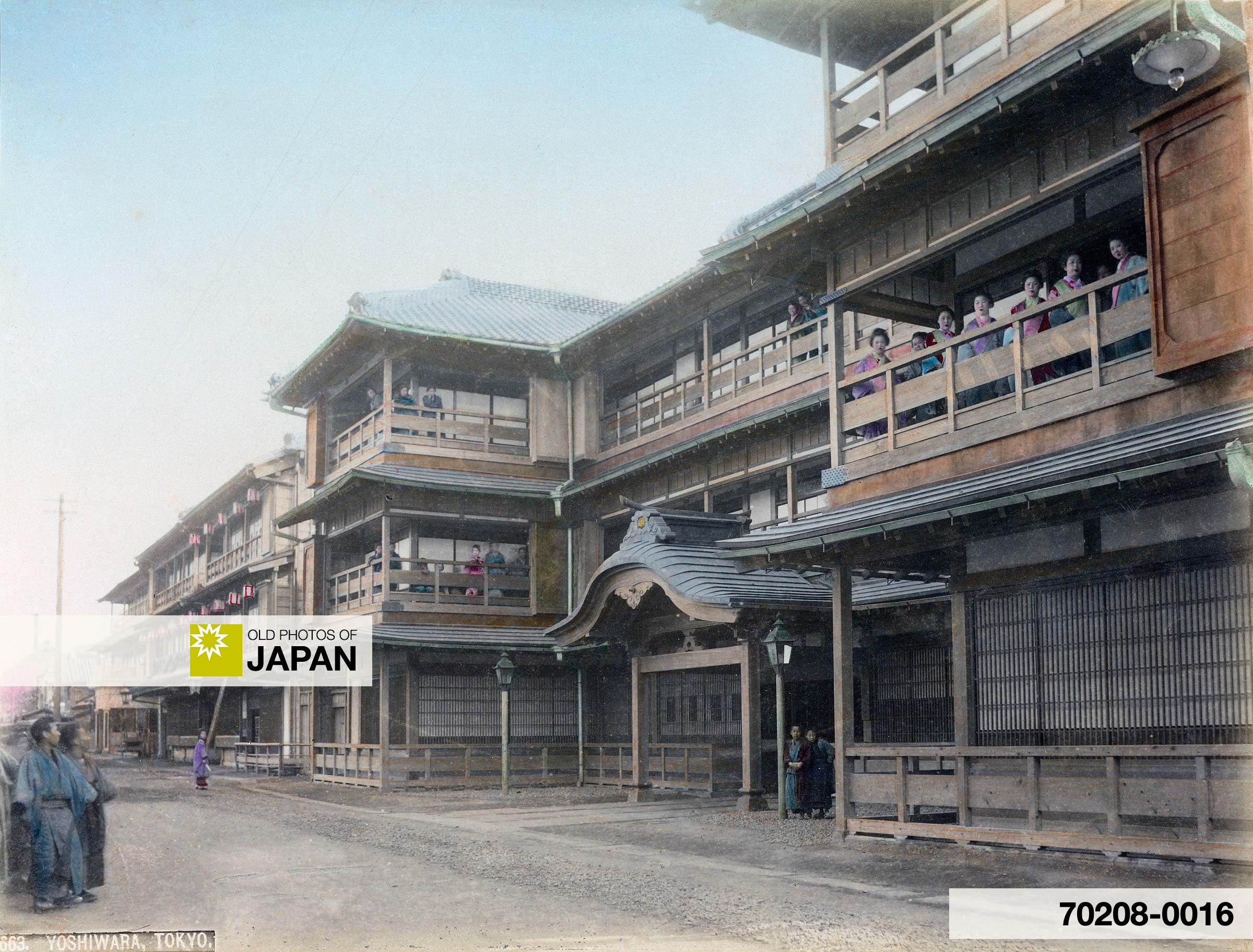 Brothel in Yoshiwara, Tokyo