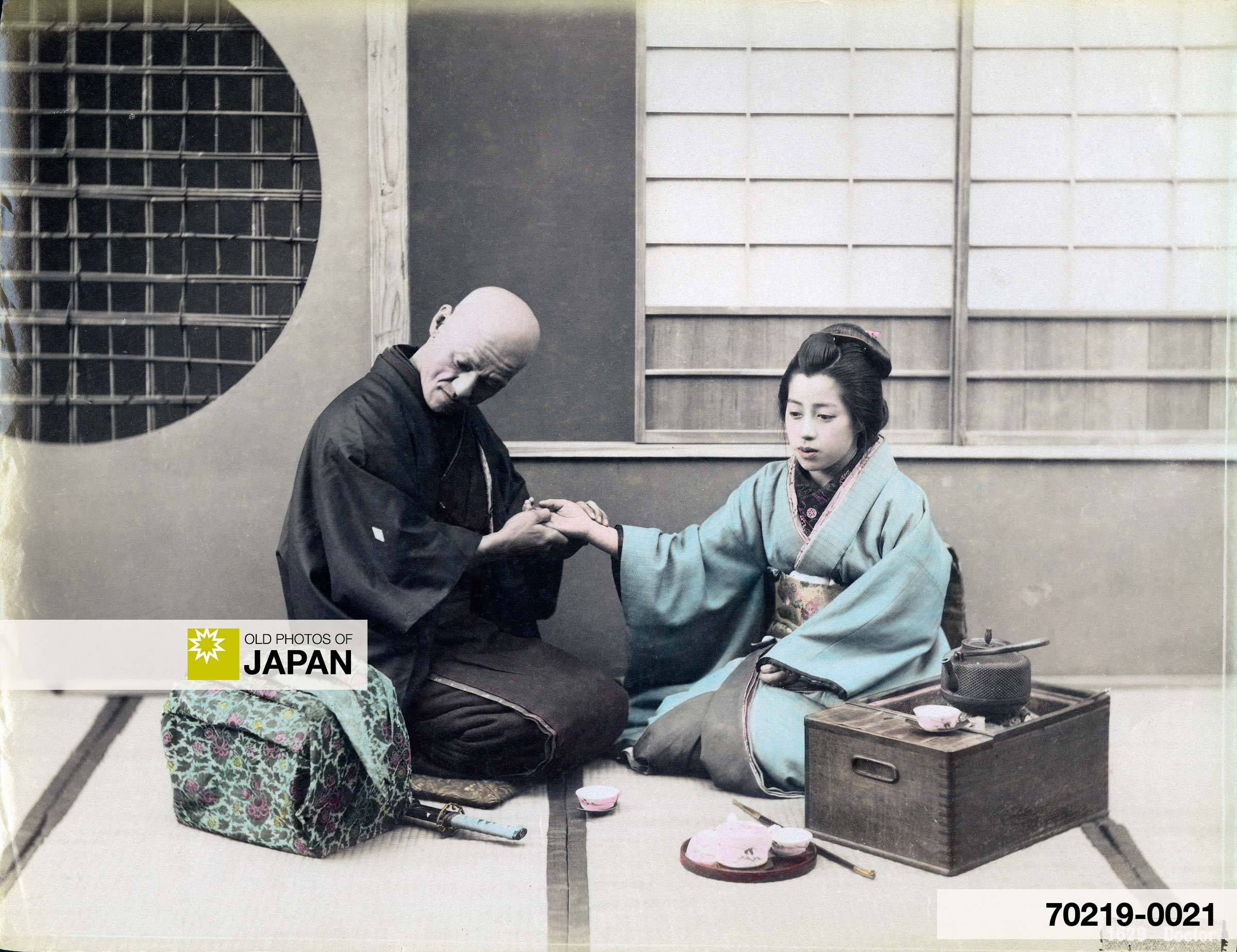 Japanese Doctor in Meiji Period