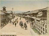 View on Gion-machi, Kyoto